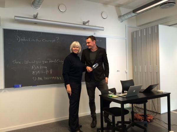 Carol Jensen og Peter Lucas